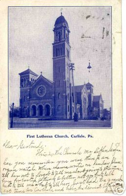 First Lutheran Church, 1905