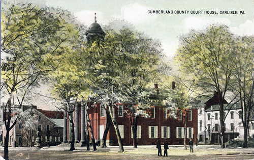 The Cumberland County Courthouse, 1909