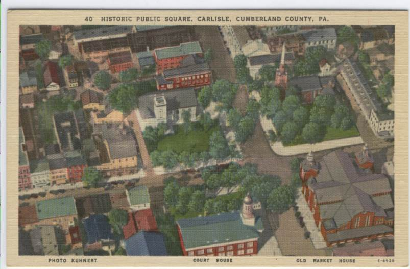 The Carlisle Square from Above, 1910.