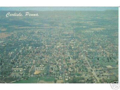 Carlisle from Above, 1966