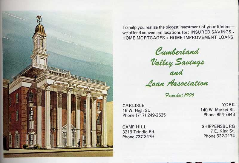 Cumberland Valley Savings and Loan, 1972