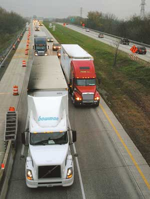 Trucks on Interstate 81, courtesy of http://www.cumberlink.com/articles/2007/11/16/perry_news/news699.txt